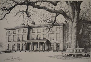 Haigh Hall commissioned by Andrew Pilkington for his wife Julia as a surprise 30th birthday present.